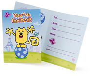 Party Suplies - Invitations