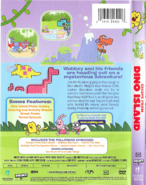 Escape From Dino Island DVD Artwork (Back and Side)