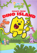 Escape From Dino Island DVD Artwork (Front)