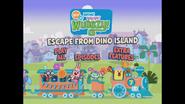 Escape From Dino Island Main Menu 1