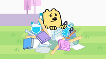 Wubbzy Emerges From School Materials