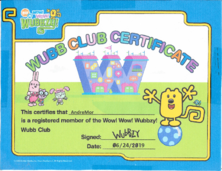 Wubb Club Cert. AndreMor (2)