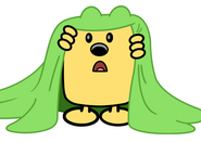 Decal - Wubbzy Under Sheet