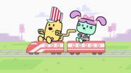 Wubbzy and Daizy Share Train Set