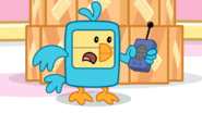 CSWM - Wubbzy in a Bird Costume Talks on Walkie-Talkie