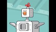 103 It's a robotic chicken