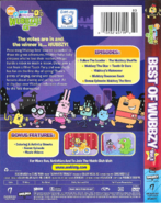Best of Wubbzy Volume 1 DVD Artwork (Back and Side)