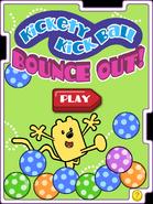 Kickety Kick Ball Bounce Out! (App) Title Screen