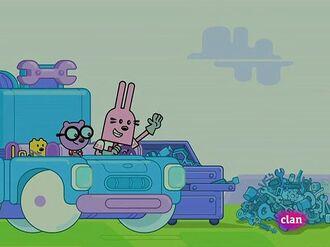 Wow! Wow! Wubbzy!- The Grass is Always Plaider