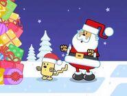 Wubbzy and santa