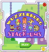 Wuzzleburg Stack-ums Title Screen