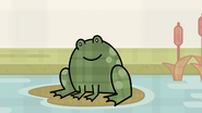 The Grass is Always Plaider - Plaid Speckled Flying Frog
