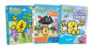 3 Wubbzy DVDs (Stock Photo)