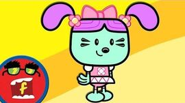 Magic Beans - Fredbot Cartoons For Kids (Wow! Wow! Wubbzy!)