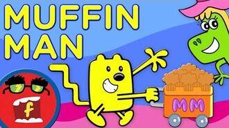 Muffin Man - Fredbot Kids Songs (Lucy the Dinosaur & Wow! Wow! Wubbzy!)