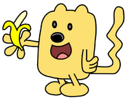 Wubbzy eating a banana by dev catscratch