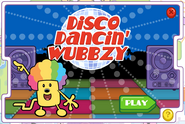 Disco Dancin' Wubbzy Title Screen