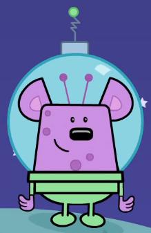 Small Purple Alien