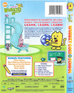 Wubbzy Goes to School DVD Artwork (Back and Side)