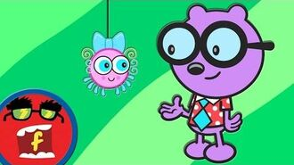 Spider World - Fredbot Cartoons For Kids (Wow! Wow! Wubbzy!)