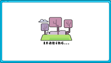 Loading screen used in most of the online Wubbzy games.