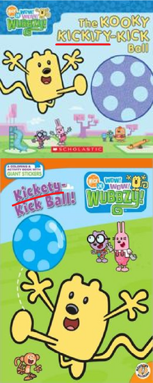 'Kickity' or 'Kickety'?