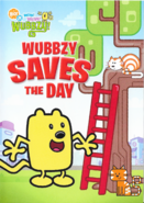 Wubbzy Saves the Day DVD Artwork (Front)