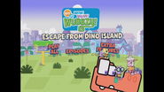 Escape From Dino Island Main Menu 5