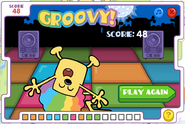 Disco Dancin' Wubbzy End Screen