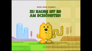 The Grass is Always Plaider (German Title Card)