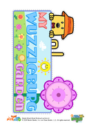 Wubbzy Gardening Print Image B