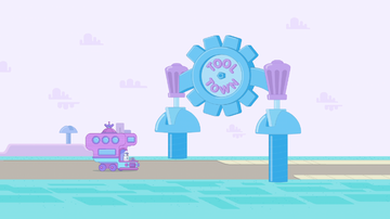 Wubbzy's Wacky Journey - Tool Town Entrance