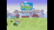 Escape From Dino Island Main Menu 8