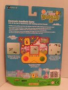 Wubbzy Electtronic Handheld Game Package - Back