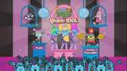 Wubb Idol Main Menu