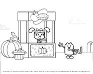Wubbzy Goes Boo! WGOES BOO fruit pumpkin