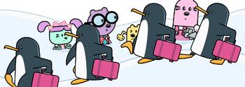Penguins (Wubbzy) A