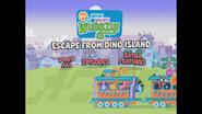Escape From Dino Island Main Menu 2