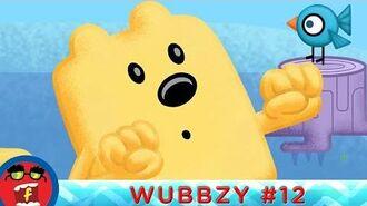 Feeding The Birds - Fredbot Children's Cartoon (Wow! Wow! Wubbzy!)
