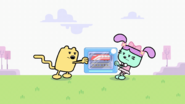 Wubbzy and Daizy Fight Over Train Set