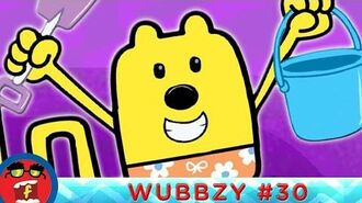 Sand Sculptures - Fredbot Cartoons For Kids (Wow! Wow! Wubbzy!)