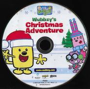 Wubbzy's Christmas Adventure DVD CD