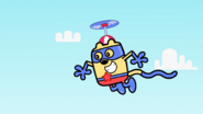 AWiB - Wubbzy Flying Over the Wubb Girlz