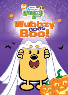 Wow! Wow! Wubbzy! Wubbzy Goes Boo! DVD cover