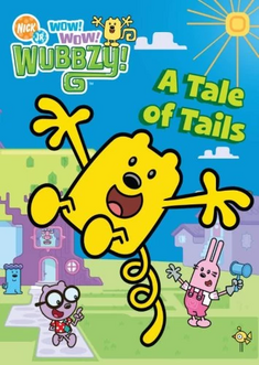 Wow! Wow! Wubbzy! A Tale of Tails DVD cover