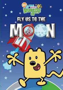 Wow! Wow! Wubbzy! Fly Us to the Moon DVD cover
