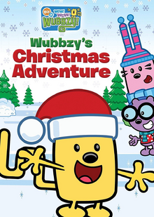Wow! Wow! Wubbzy! Wubbzy's Christmas Adventure DVD cover