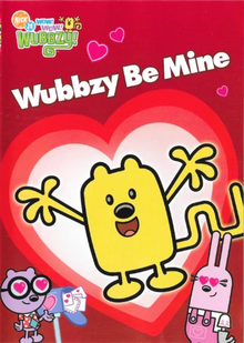 Wow! Wow! Wubbzy! Wubbzy Be Mine DVD cover