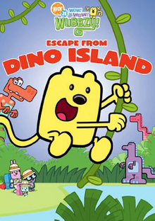 Wow! Wow! Wubbzy! Escape from Dino Island DVD