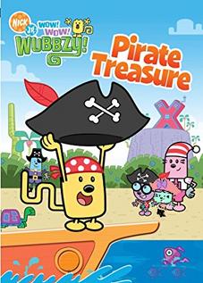 Wow! Wow! Wubbzy! Pirate Treasure on DVD